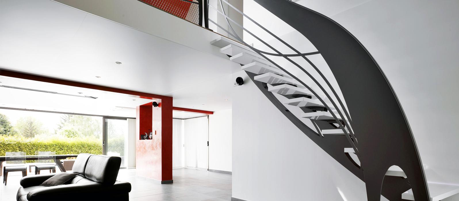 Habiller Un Poteau Interieur design d'intérieur : le garde-corps, la touche design qui